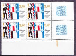 N° 2470 Centenaire De La Naissance De Le Corbusier: Beau Bloc De 4 Timbres Neuf Impeccable Sans Charnière - Neufs