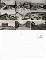 List Auf Sylt Mehrbild-AK Ua. Hafen, Dünen Häuser, Strand, Bahnhof Uvm. 1960 - Unclassified