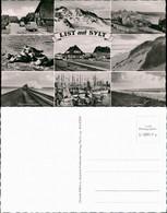 List Auf Sylt Mehrbild-AK Ua. Kaufhaus F. Draeger, Seehunde, Bahnhof Uvm. 1960 - Unclassified