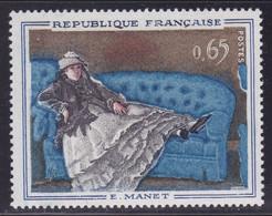 Liseré Blanc Sur  N° 1364, Manet ( 2101/12.2) - Curiosités: 1950-59 Neufs