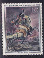 Sabre Rouge Sur  N° 1365, Géricault ( 2101/12.3) - Curiosités: 1950-59 Neufs