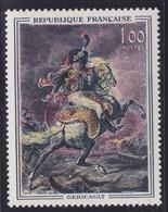 Sabre Rouge Sur  N° 1365, Géricault ( 2101/12.4) - Curiosités: 1950-59 Neufs