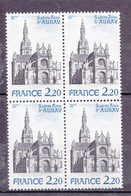 N° 2134 Basilique De Sainte Anne D'Auray. Bloc De 4 Timbres Neuf Impeccable Sans Charnière - Unused Stamps