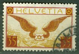 Suisse   PA  Yvert  13a   Ob  TB   Papier Ordinaire - Gebraucht