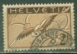 Suisse   PA  Yvert  15a   Ob  B/TB   Papier Ordinaire - Gebraucht