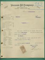 75 Paris Vacum Oil Compagny Usine A Rouen Pour La Fabrication Des Graisses Consistantes 28 09 1905 - Other