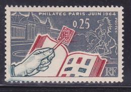 Timbre En Feu  Sur  N° 1403( 2101/13.5) - Curiosités: 1950-59 Neufs