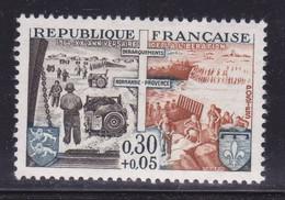 Ombre Sur Provence Et Blason,   Sur  N° 1409( 2101/14.3) - Curiosités: 1950-59 Neufs