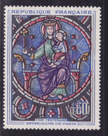 Auréole Blanche Et Rouge Décalé ,   Sur  N° 1419( 2101/14.4) - Curiosités: 1950-59 Neufs