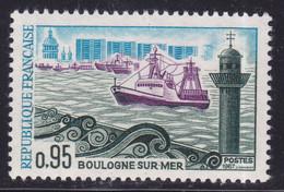 Coque Verdâtre Du Bateau  ,   Sur  N° 1503( 2101/15.2) - Curiosités: 1950-59 Neufs