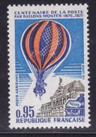 Couleur Orange Décalée Sur Ballon  ,   Sur  N° PA45( 2101/16.3) - Curiosités: 1950-59 Neufs