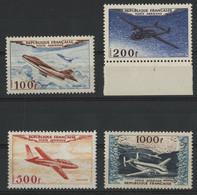 POSTE AERIENNE N° 30 à 33  Cote : 200 € (voir Description) - 1927-1959 Postfris