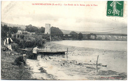 95 LA ROCHE-GUYON - Les Bords De La Seine, Près Le Port - La Roche Guyon
