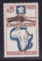 Afrique Su Sud Saignante Sur Coopération   ,   Sur  N°1432( 2101/16.5) - Curiosités: 1950-59 Neufs