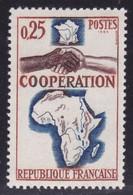 Afrique Su Sud Saignante Sur Coopération   ,   Sur  N°1432( 2101/16.6) - Curiosités: 1950-59 Neufs