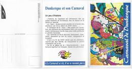 Carnet Dépliant De Cartes Postales Du Carnaval De DUNKERQUE 59 -  Avec L'histoire Du Carnaval   1994 - Dunkerque