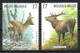 BELGIQUE. N°2749 & 2751 De 1998. Cerf/Chevreuil/Buzin. - Otros