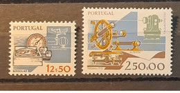 Portugal - 1981 - MNH As Scan - Working Tools - 4th Group - 2 Stamps - Nuevos