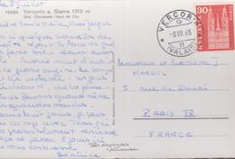CP -  VERCORIN / 8.VII. 65 - Brieven En Documenten