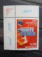 MONACO 2006 Y&T N° 2534 ** - 100e TOURNOI MASTERS SERIES A MONTE CARLO - Nuovi