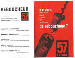 Publicite Reboucheur 57 Anciens Etablissements Jardin Corbeil Essonne - 1950 - ...