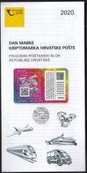 Croatia 2020 / Stamp Day / Croatian Post Crypto Stamp / Kriptobriefmarke / Prospectus, Leaflet, Brochure - Croatia