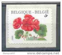 OCB Nr 2854 ( R90) Buzin Flora Geranium Rolzegel - Timbre Rouleau Year 1999 - Neufs