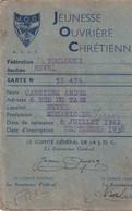 REVEL  - Carte  JEUNESSE OUVRIERE CHRETIENNE  1938 - Revel