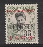 Kouang-Tchéou 1919 , YT 44a * , Cote 50,00 - Neufs