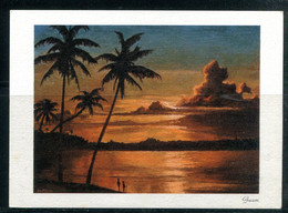 GUAM - Pacific Sunset (carte Vierge) - Guam