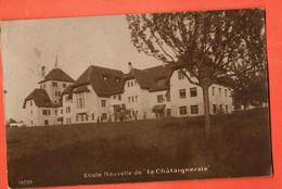 ZIF-31 Ecole Nouvelle De La Châtaignerie Sur Founex, Sepia  Circulé. Guignard 10739 - VD Vaud