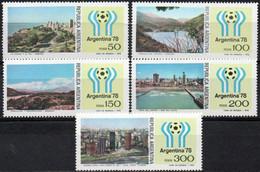 ARGENTINE 1977 ** - Neufs