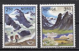 Norvège - Norway - Norwegen 1983 Y&T N°837 à 838 - Michel N°881 à 882 *** - Norden 83 - Ungebraucht