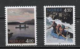 Norvège - Norway - Norwegen 1993 Y&T N°1080 à 1081 - Michel N°1123 à 1124 *** - Norden 93 - Unused Stamps