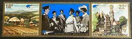 Rwanda  Zegel Nrs 482 - 484 MNH*** OCB 6€ - Collections