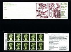 GREAT BRITAIN - 1988  £ 1.80  BOOKLET  LINNEAN SOCIETY  RM  MINT NH  SG FU 6b - Carnets