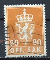 Norvège - Norway - Norwegen Service 1955-76 Y&T N°S86A - Michel N°D82 (o) - 95s Armoirie - Officials