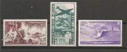 Timbre De Colonie Française Martinique   P-a  Neuf * N 13 / 14 / 15 - Airmail
