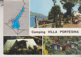 LAGO DI GARDA SAN FELICE DEL BENACO BRESCIA CAMPING VILLA PORTESINA VG - Brescia
