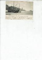 BLANKENBERGHE UN BATEAU DE PECHE EN REPARATION M165 - Blankenberge