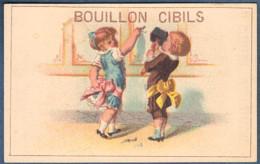 Chromo Bouillon Cibils Enfants Enfant Fillette Fillettes Clou Marteau - Ohne Zuordnung