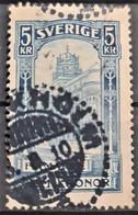 SWEDEN 1903 - Canceled - Sc# 66 - 5kr - Oblitérés