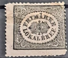 SWEDEN 1856 - Mint, Repaired On Upper Right Corner! - Sc# LX1 - Oblitérés