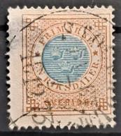 SWEDEN 1872 - Canceled - Sc# 27 - 1Rt - Oblitérés