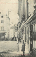 """CPA FRANCE 88 """" Chatel, Grande Rue"""" - Chatel Sur Moselle"""