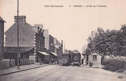 "DINARD "" Arret Du Tramway, Belle Carte ""     N°8182 - Dinard"