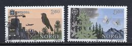 Norvège - Norway - Norwegen 1986 Y&T N°902 à 903 - Michel N°946 à 947 (o) - EUROPA - Usati