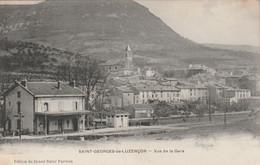(SV3) AVEYRON , SAINT GEORGES DE LUZANCON   , Vue De La Gare - Other Municipalities
