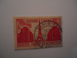 FRANCE  USED STAMPS WITH PERFINS  2 SCAN  WITH POSTMARK - Unclassified
