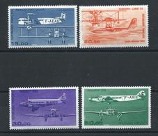 France PA N°57/60** (MNH) 1984/87 - Avion - 1960-.... Nuovi